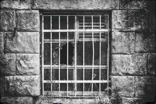 Old window - the prisoner