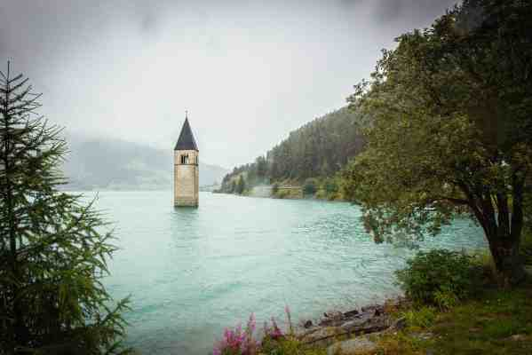 Tower in a river