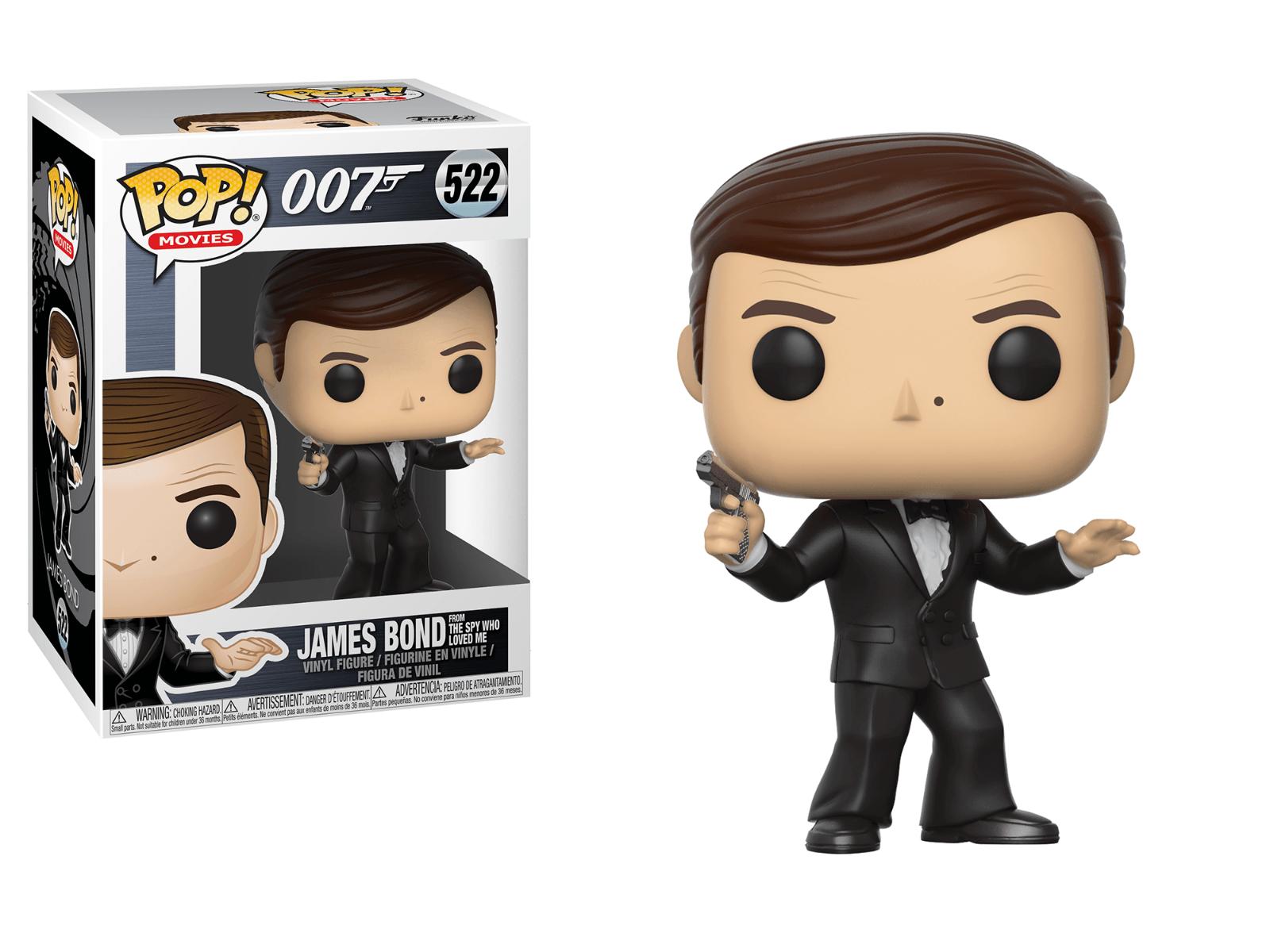 James Bond 007 Boîte NEUF Figurine FUNKO POP JAWS 523