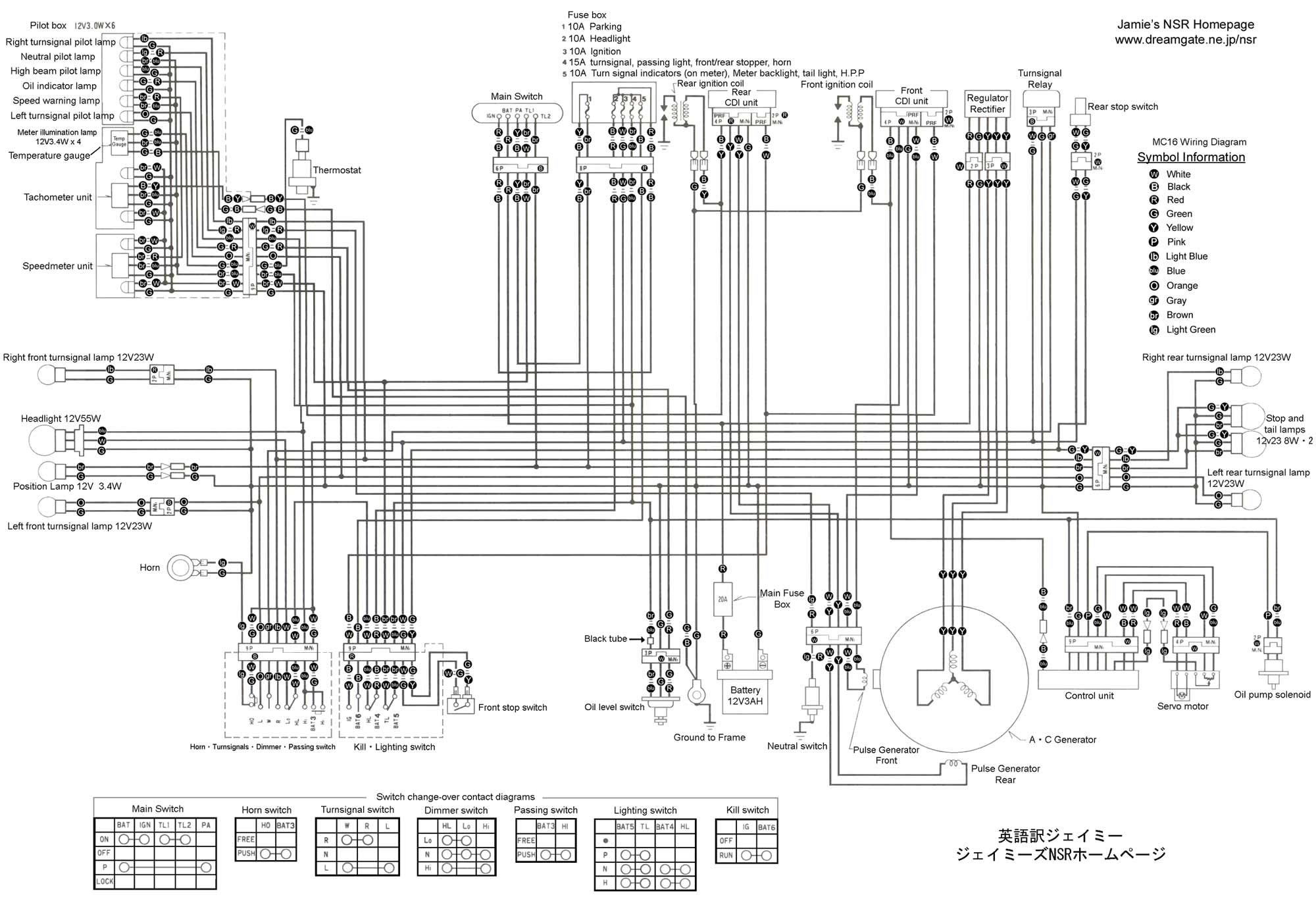 Mc16 Wiring Diagram