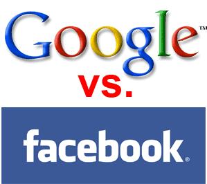 google vs facebook social media
