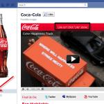 Coca-Cola Facebook page