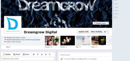 Facebook page timeline