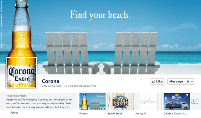 corona facebook cover photo