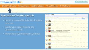 followerwonk Free Social Media Monitoring Tools