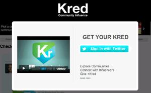 kred Free Social Media Monitoring Tools