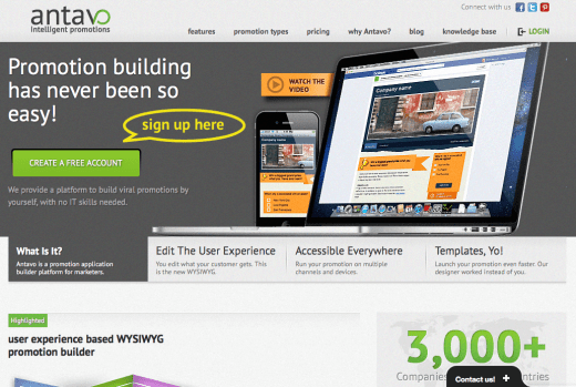 Antavo Promotion Builder (Product Review)