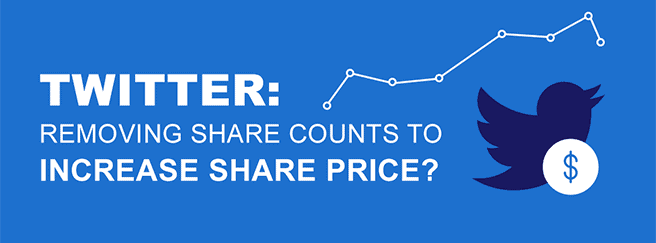 twitter removing share count