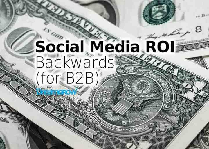 social media roi b2b