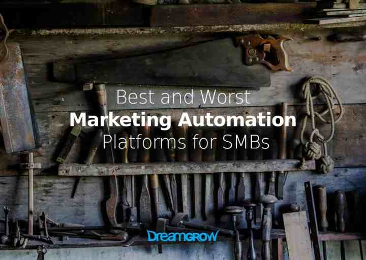 marketing automation platforms for small business