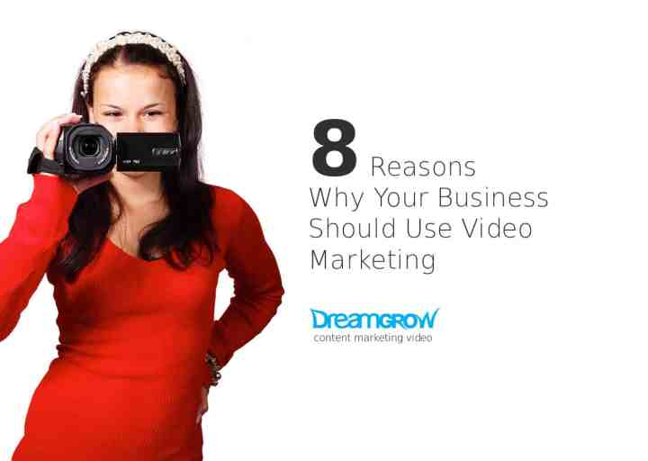 why your business should use video marketing