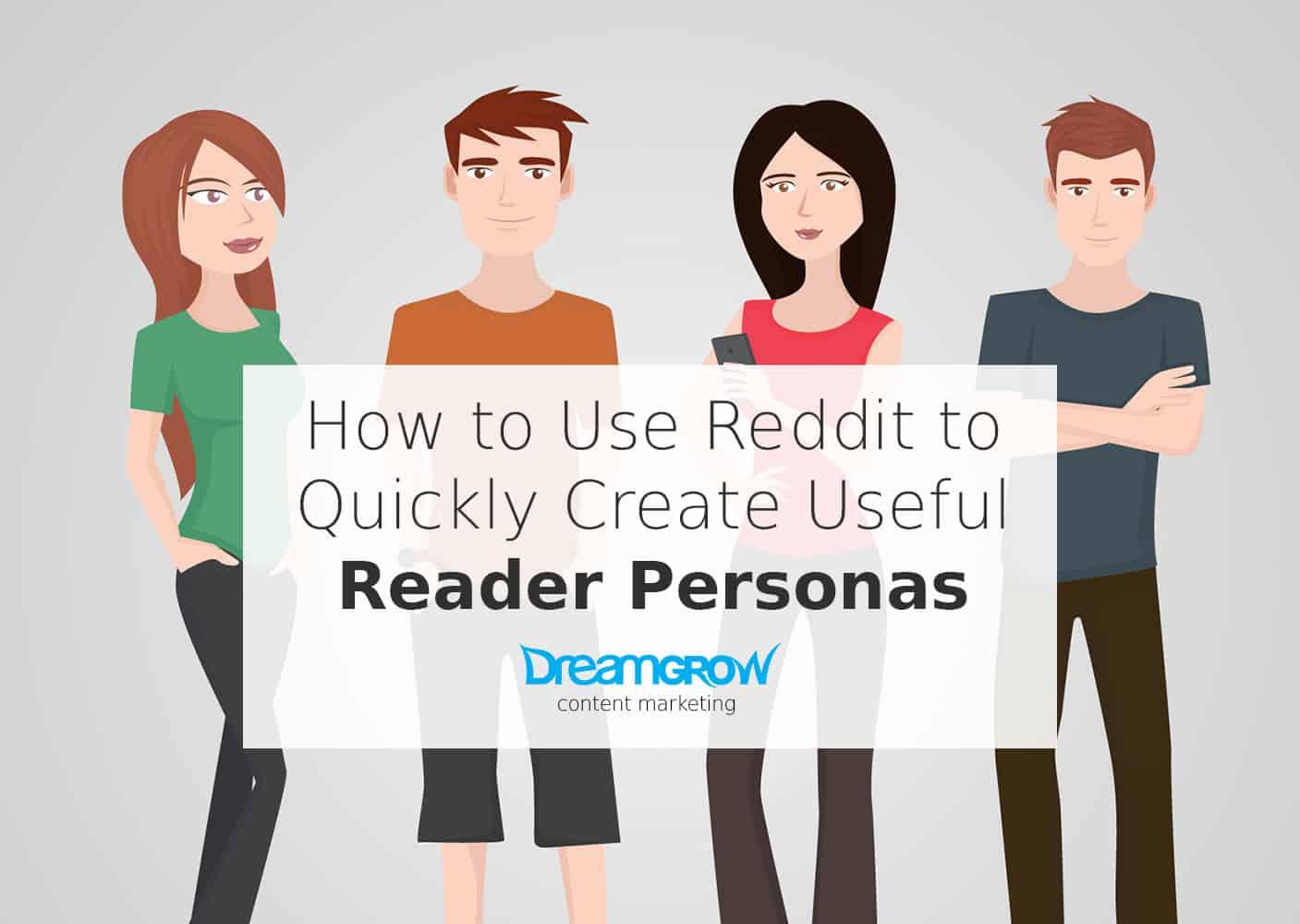 create reader personas with reddit