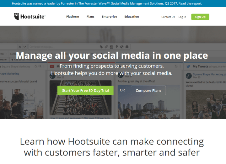 hootsuite twitter tools