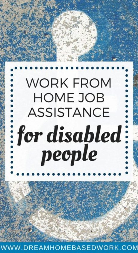 Did you know it is possible to work from home with a disability? This trusted resource provides job assistance for disabled people social security disability benefits.