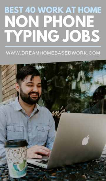 Are you looking for a work at home typing job? These 40 legit typing companies may hire you for data entry, medical, legal, or general transcription.