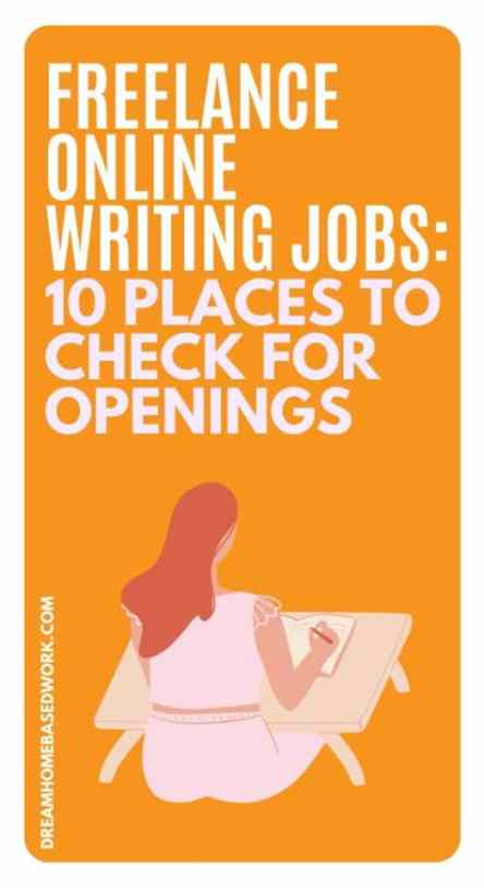 If you want to find the best freelance online writing jobs this list will help you to find job openings available right now. Apply today!