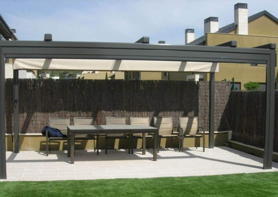 7 ideas perfectas para techar un patio 12