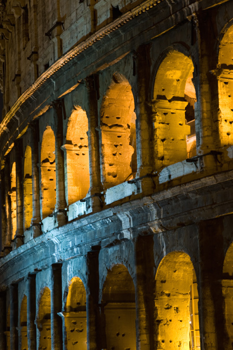 Colosseo By Night Photo By Morgan Capasso