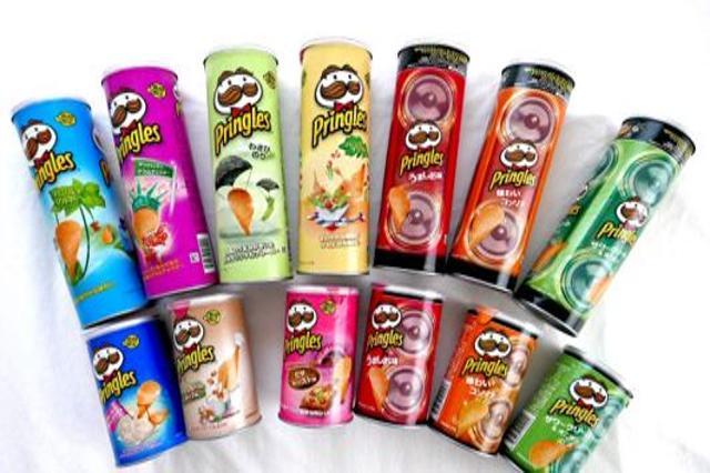 Milioni di gusti di... Pringles!
