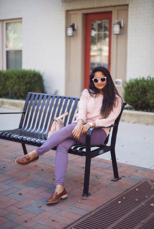 Lifestyle Blogger Surekha of Dreaming Loud wearing Madewell Elinor Loader in dark Chestnut