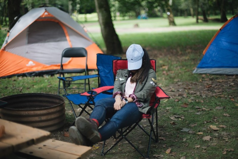 Lifestyle blogger Surekha of Dreaming Loud sharing fall camping checklist2