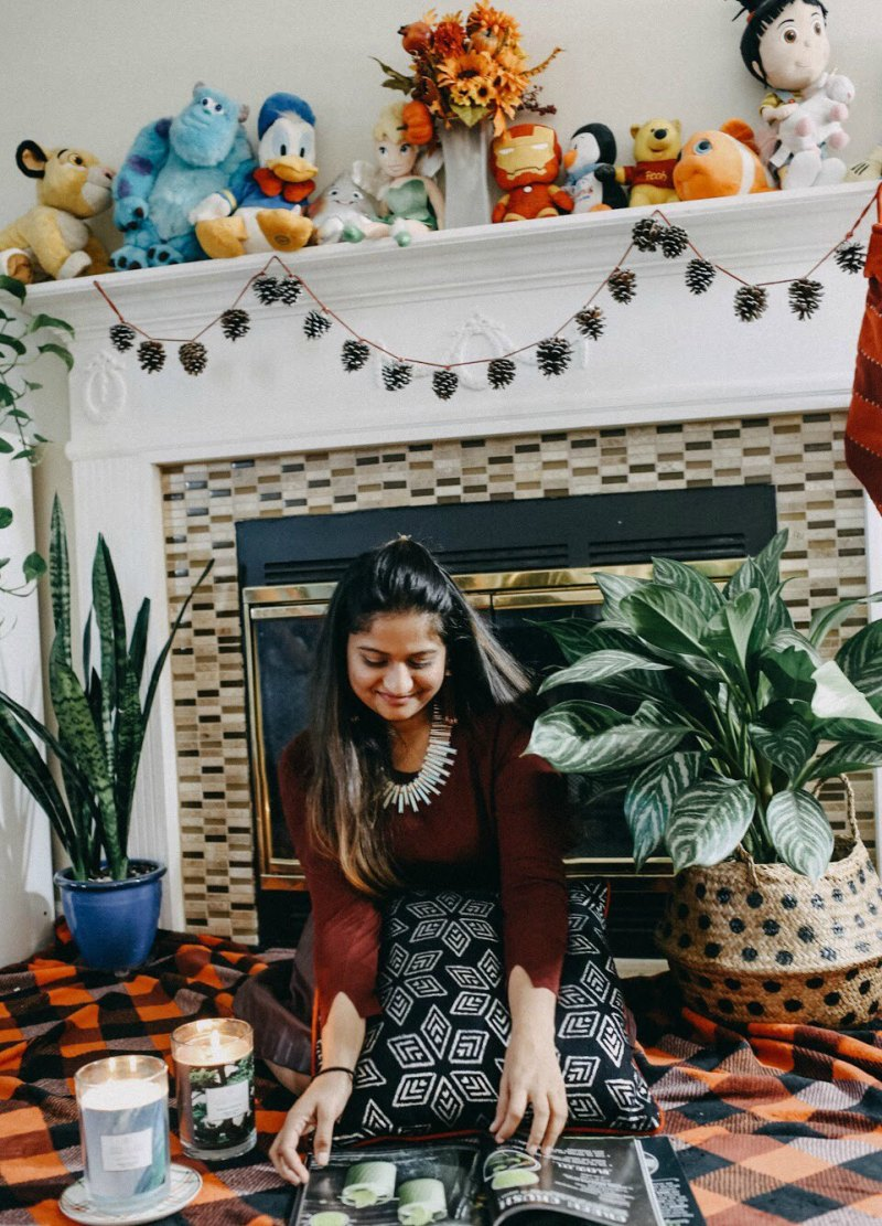 Lifestyle Blogger Surekha of Dreaming Loud sharing South Asian Thanksgiving with friends