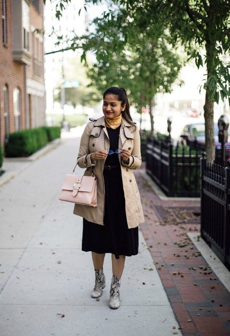 lifestyle blogger Surekha of dreaming loud sharing Ladylike with an edge outfit