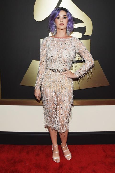 Katy Perry in Zuhair Murad - 2015 Grammys