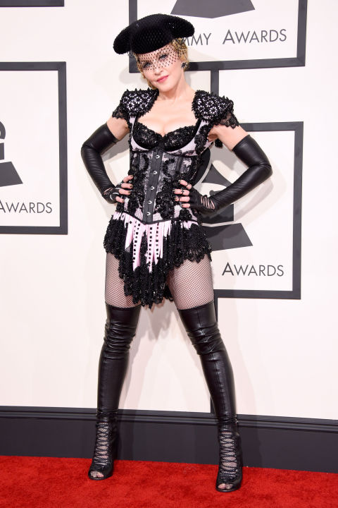Madonna in Givenchy - 2015 Grammy Awards