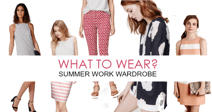 Summer Work Styles I DreaminLace.com #SummerStyle #WhattotWear