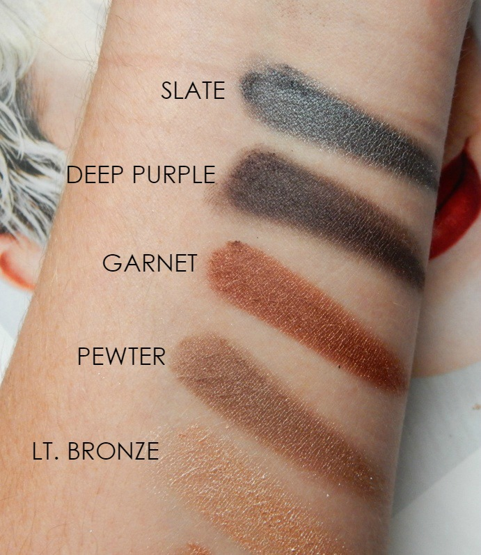 Lorac Pro Palette Eyeshadow Swatches - Dream in Lace