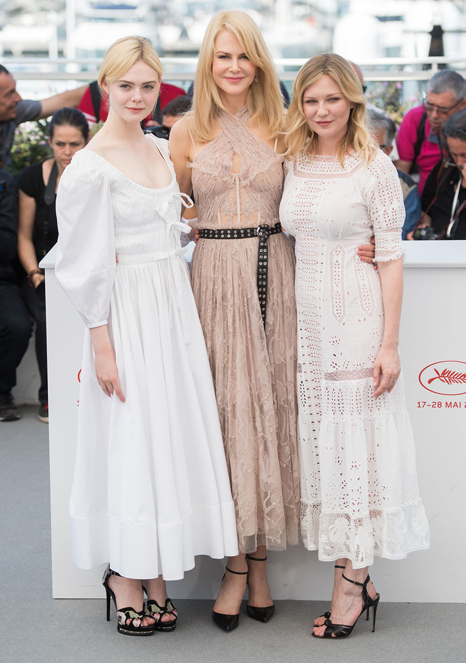 The Beguiled Style I Elle Fanning, Nicole Kidman and Kirsten Dunst at the Cannes Film Festival 'The Beguiled' photocall