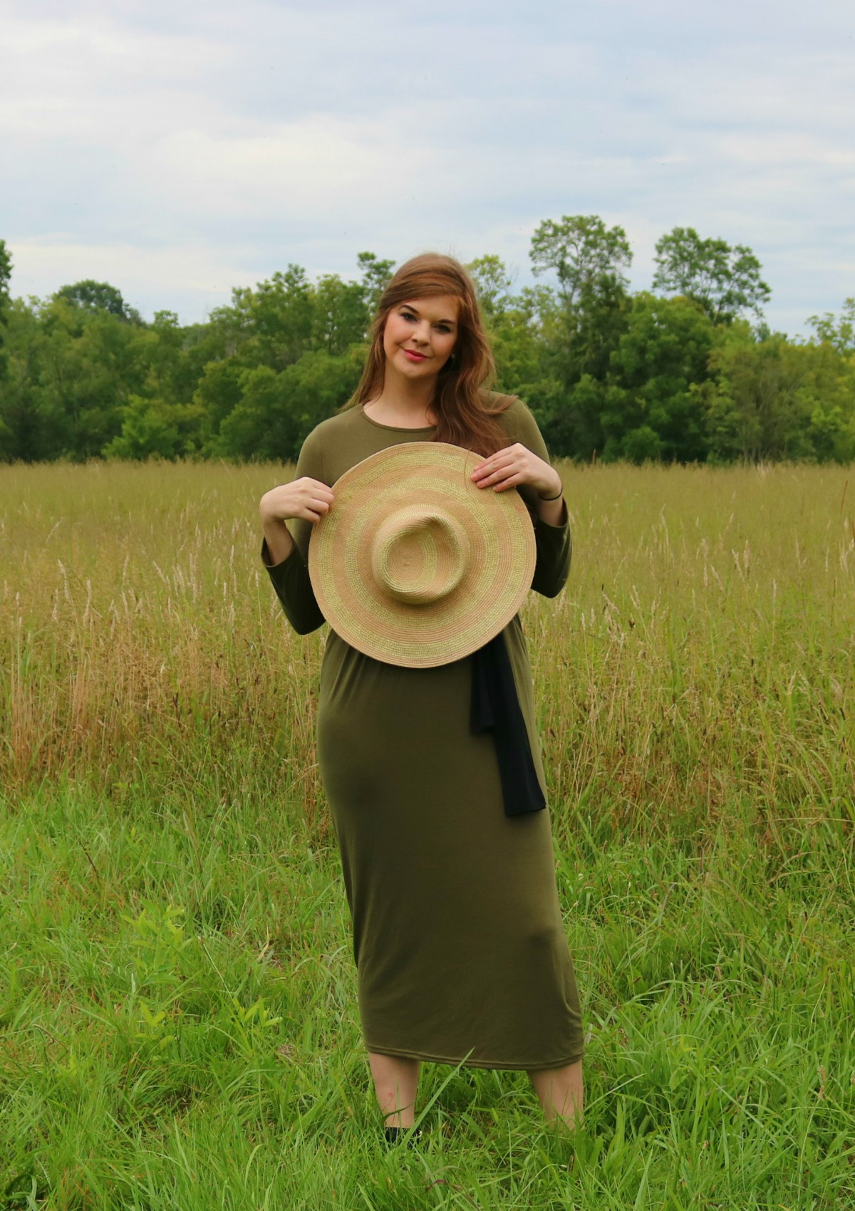 How to Rise Above I SheIn Green Maxi Dress