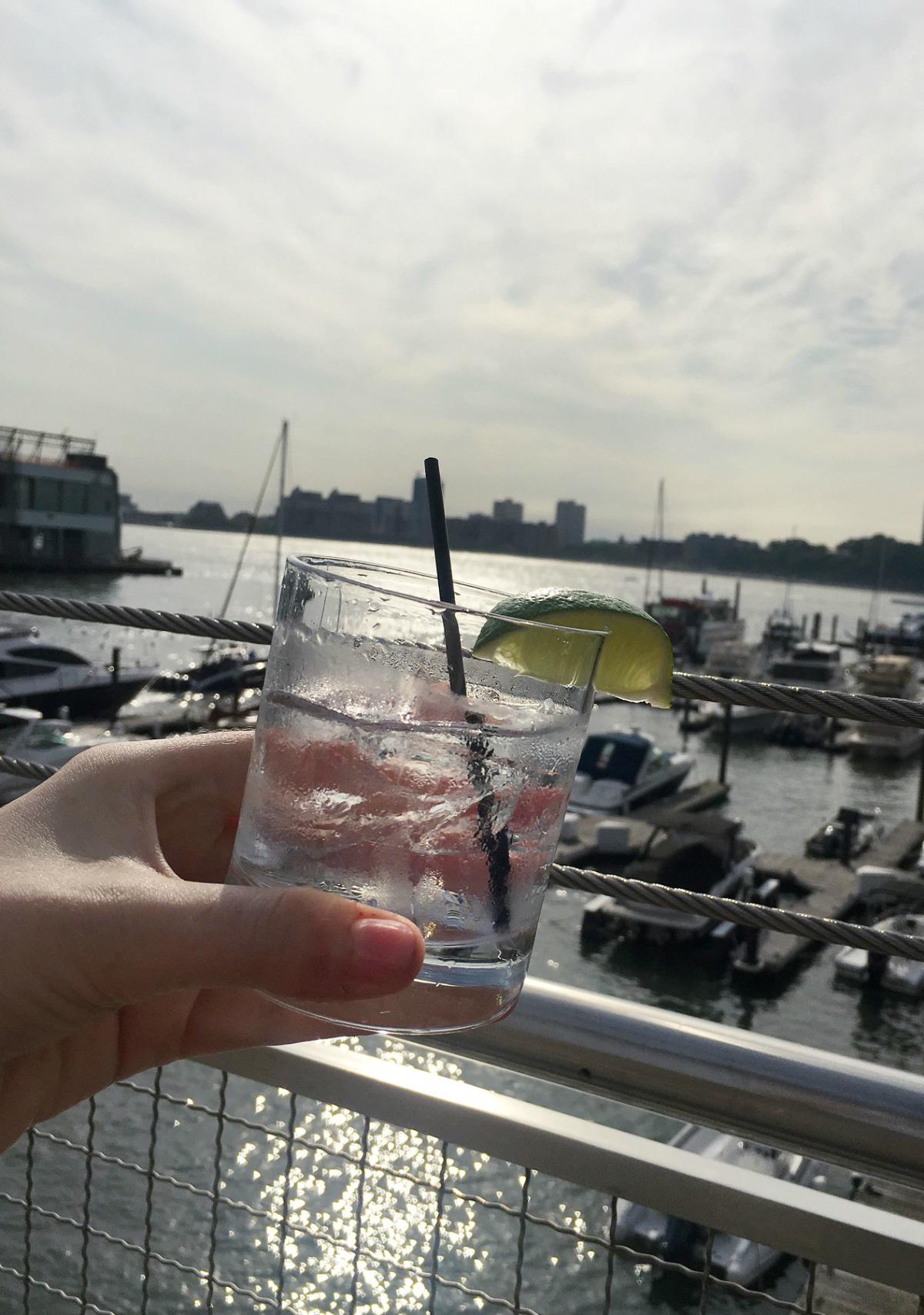 New York Fashion Week Diary : Vodka at Pier 59 Studios