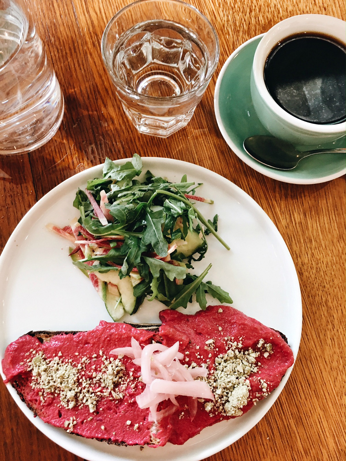New York Fashion Week Diary : Vegan Brunch at Citizens of Chelsea