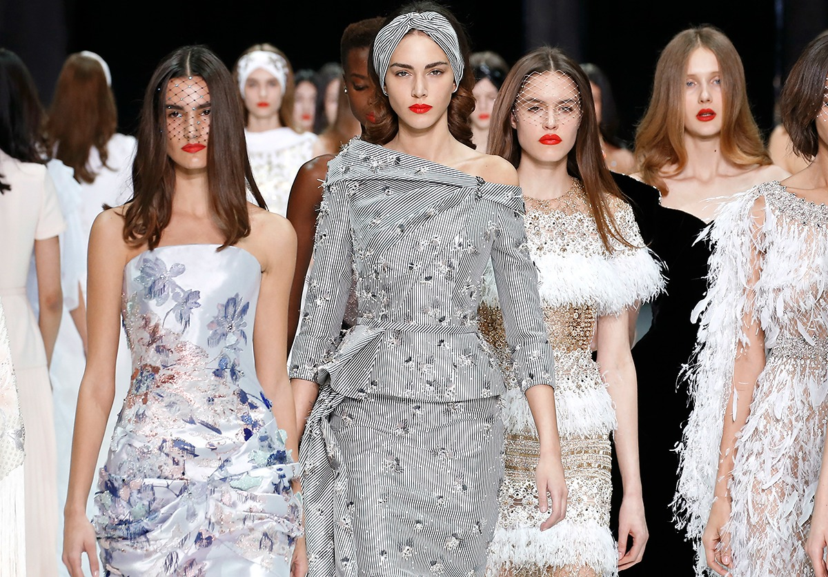 Ralph and Russo Spring 2018 Couture Runway I Paris Fashion Week #HighFashion #Couture