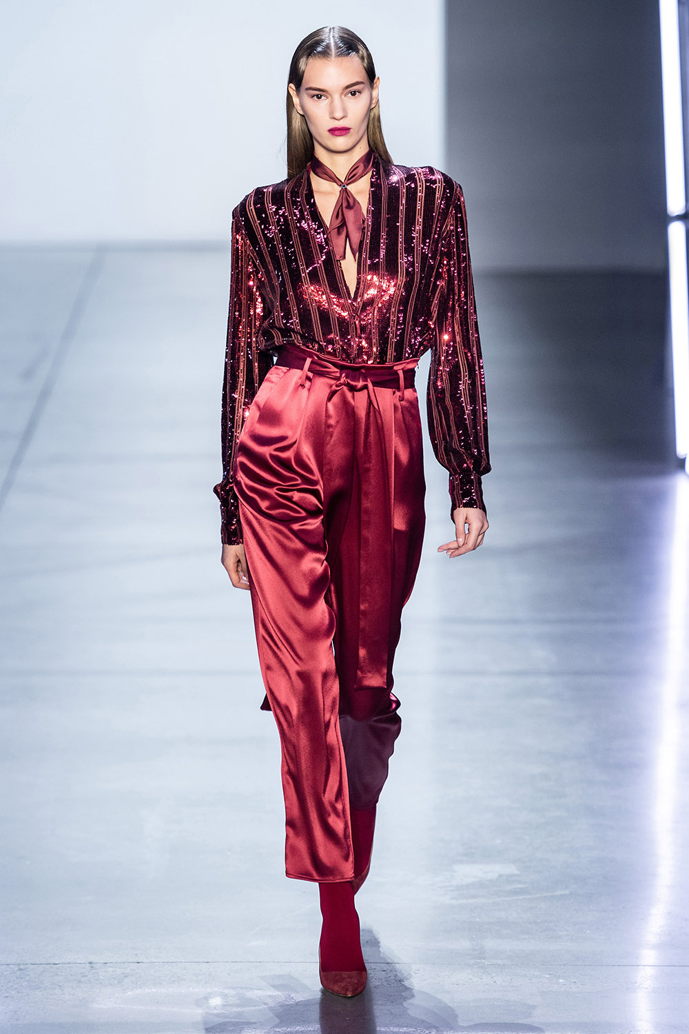 Best NYFW Looks I Sally LaPointe Fall 2019 Collection #NYFW #Fall2019 #FW19 #Runway