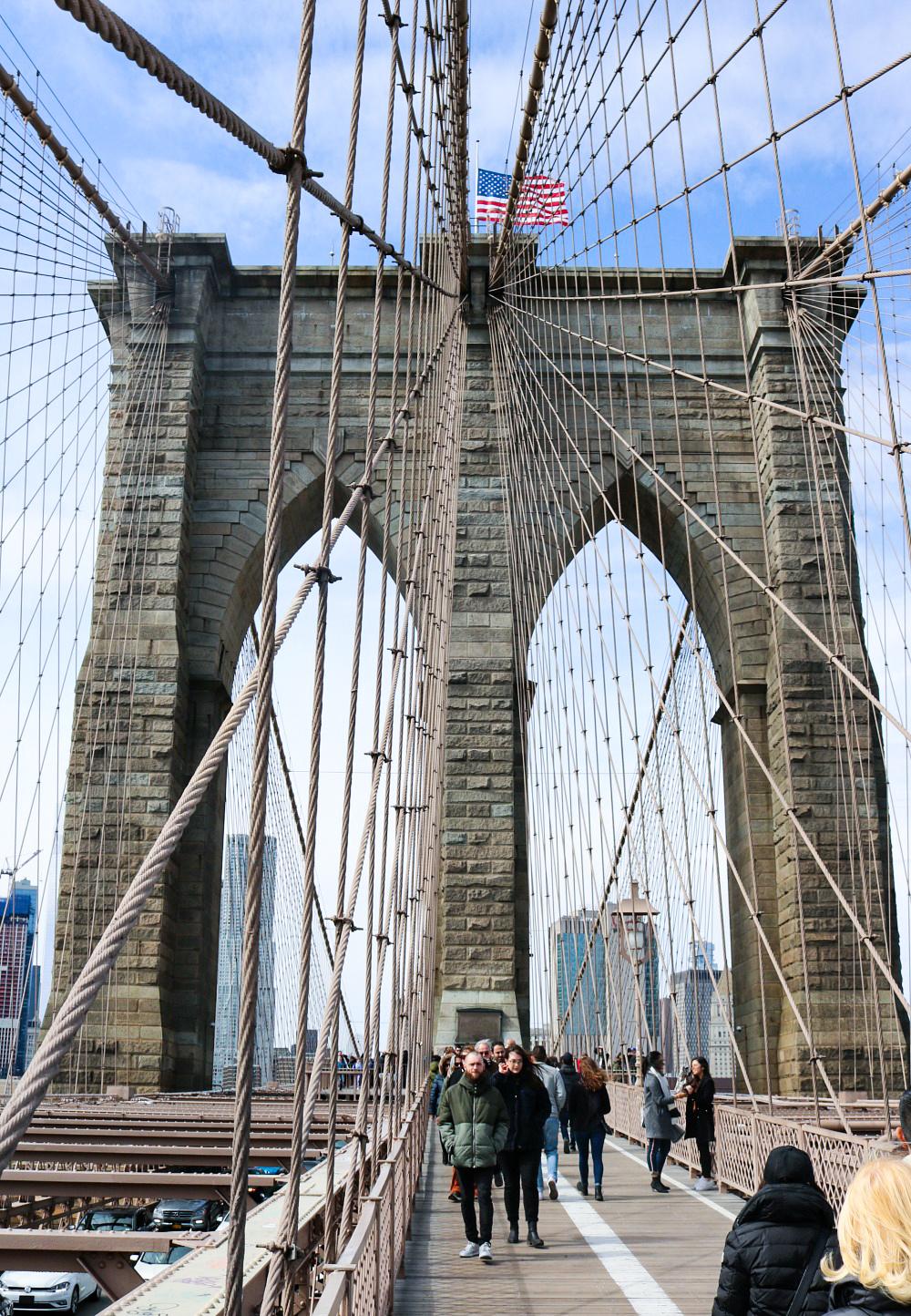Affordable New York City Travel Guide I Brooklyn Bridge #Travel #TravelGuide #NYC