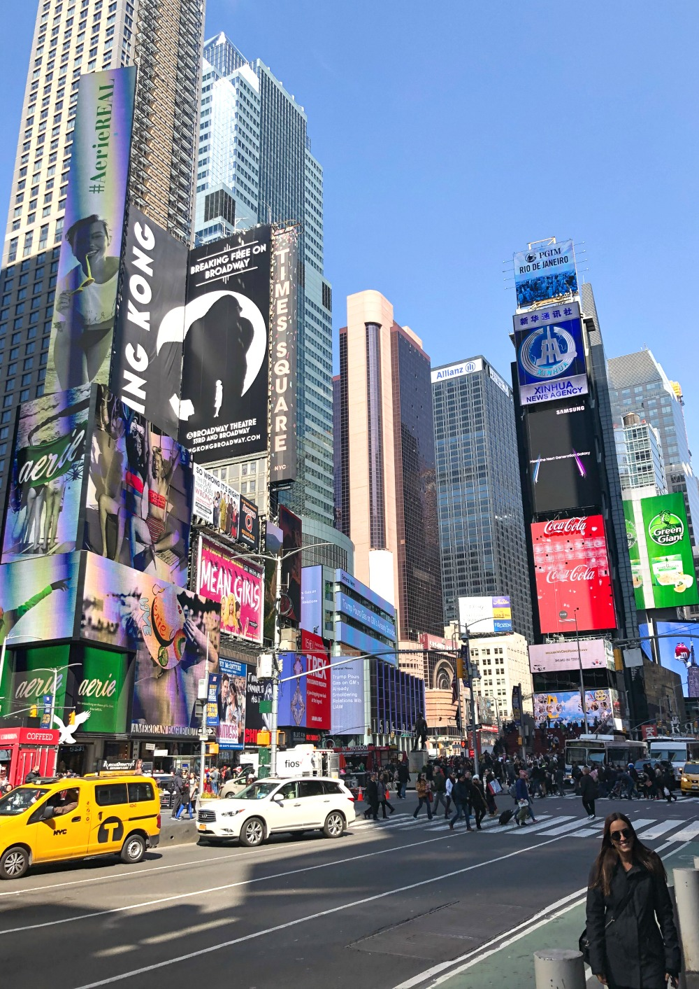 Affordable New York City Travel Guide I Times Square #Travel #TravelGuide #NYC