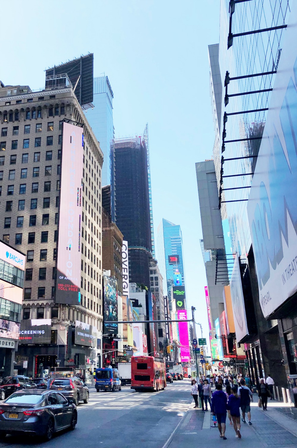NYC Photo Diary I Time Square in Midtown #Travel #TravelBlogger