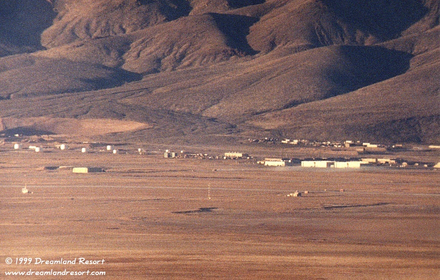 Area 51 Panorama Taken From White Sides In May 1994