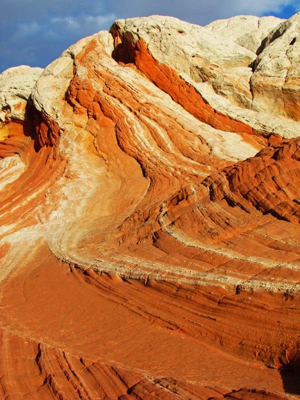 Image result for orange and white southwest landscape