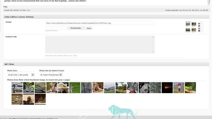 WordPress + Flickr = Wow!