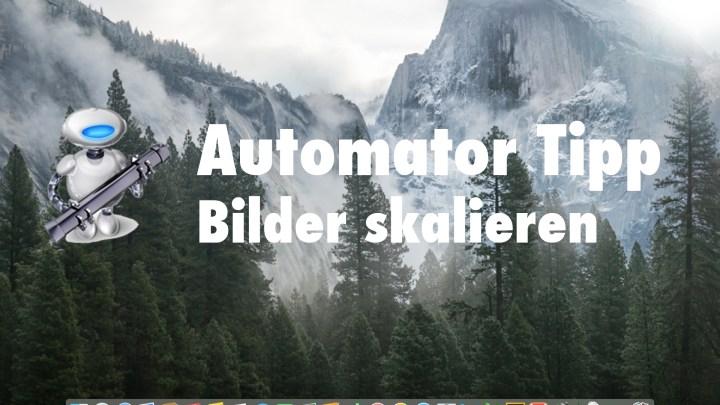 Automator (OSX) | Bilder skalieren