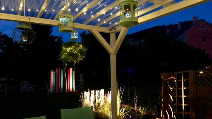 DIY Sichtschutz | Lorax im Garten