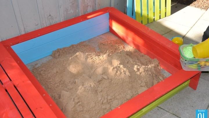 Ein wirklich bunter Sandkasten