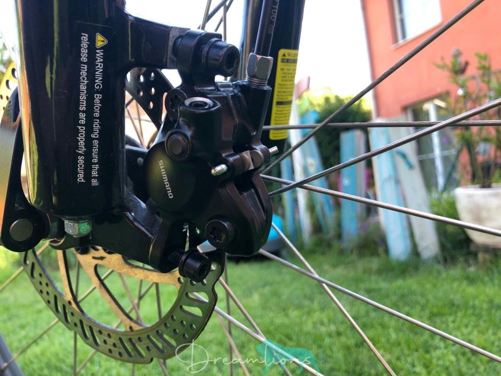 hydraulische Scheibenbremse MT200