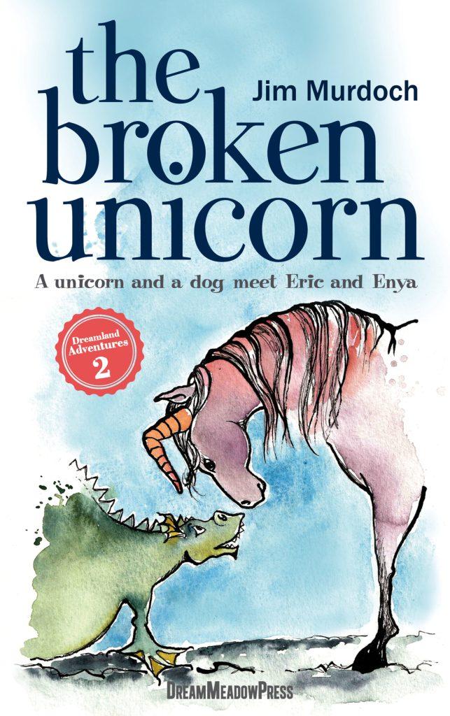 Book Cover: The Broken Unicorn