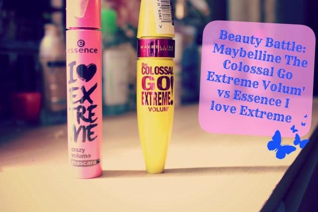 Спирала Maybelline The Colossal Go Extreme Volum' срещу спирала Essence I love Extreme