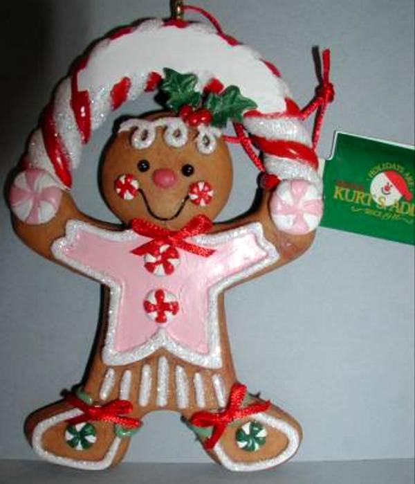 Ornaments Kurt Adler Gingerbread Christmas